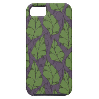 Falling Leaves Mulberry Case For The iPhone 5