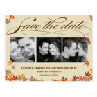 Falling Leaves Save The Date Card