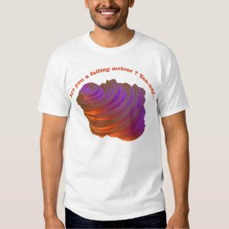 Falling meteor shirts