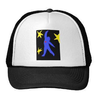 Falling Modern Art t - shirt Mesh Hat