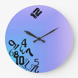 Falling Numbers Large Clock