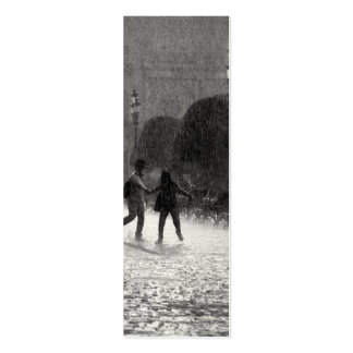 Falling Rain Business Card Templates