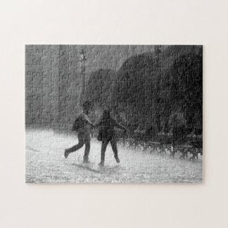 Falling Rain Puzzle