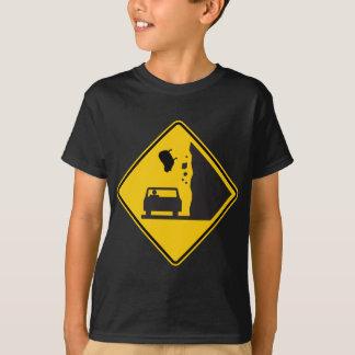 Falling Sheep Zone Highway Sign T-Shirt