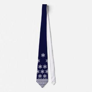 Falling Snow Tie