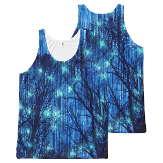 """Falling Stars"" All-Over Print Tank Top"