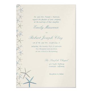 Falling Stars Parents Names Wedding Invitation