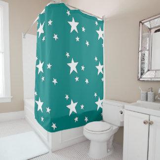 Falling Stars Shower Curtain
