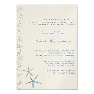 Falling Stars Tropical Wedding Invitations