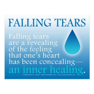 Falling Tears Postcard