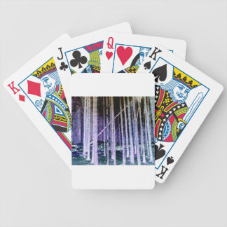 Falling Tree Bicycle Playing Cards