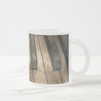 Falln A Melody Left Abadoned Frosted Glass Mug