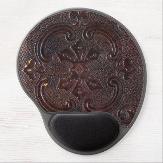 Falln Ancient Leather Book Gel Mouse Pad