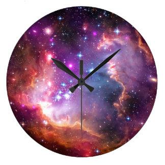 Falln Angelic Galaxy Clock