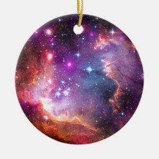 Falln Angelic Galaxy Round Ceramic Decoration
