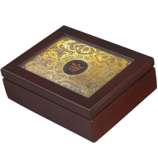 Falln Antique Golden Swirls Memory Boxes