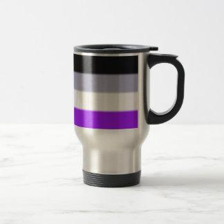 Falln Asexual Pride Flag Stainless Steel Travel Mug