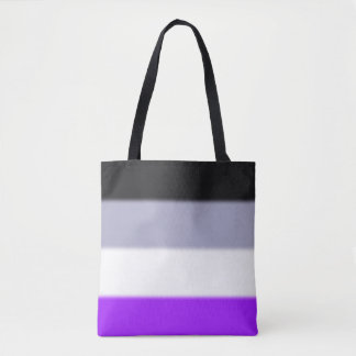 Falln Asexual Pride Flag Tote Bag