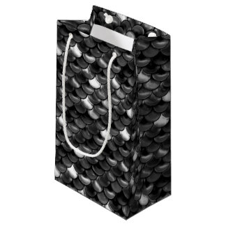 Falln Black and White Scales Small Gift Bag