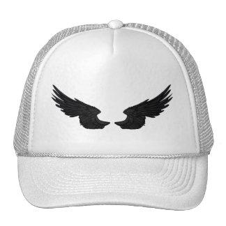 Falln Black Angel Wings Cap