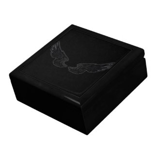 Falln Black Angel Wings Gift Box