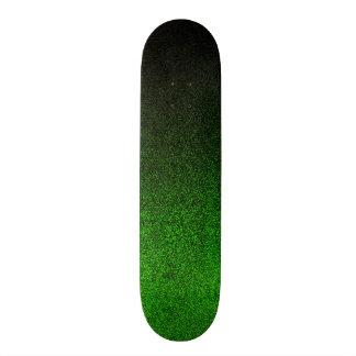 Falln Black & Green Glitter Gradient Skate Boards
