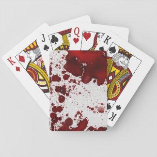 Falln Blood Stains Poker Deck
