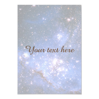 Falln Blue Embrionic Starfield Magnetic Invitations