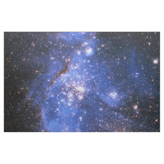 Falln Blue Embrionic Stars Fabric