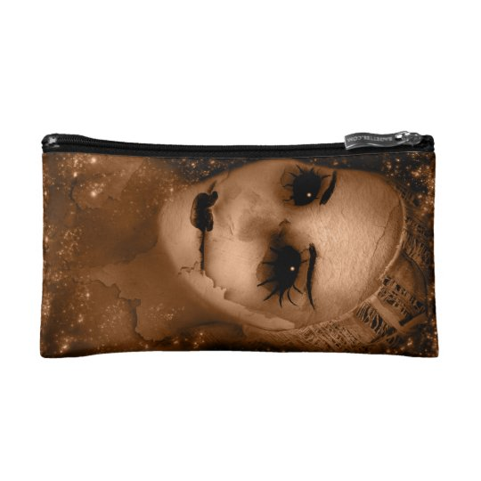 Falln Broken Pierrot Original Art Cosmetic Bag