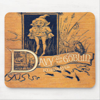 Falln Davy and The Goblin Book Mouse Pad