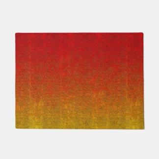 Falln Flame Glitter Gradient Doormat