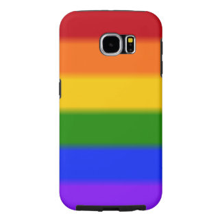 Falln Gay Pride Flag Samsung Galaxy S6 Cases