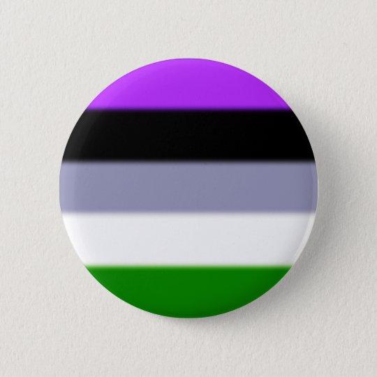 Falln Genderqueer Pride Flag 6 Cm Round Badge