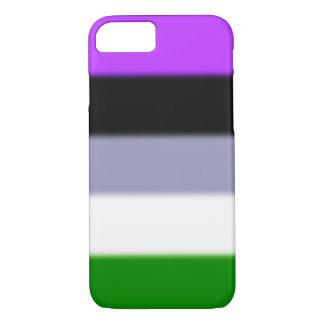 Falln Genderqueer Pride Flag iPhone 7 Case