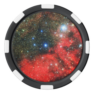 Falln Gold Dusted Galaxy Poker Chips