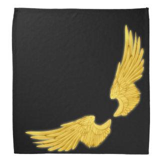 Falln Golden Angel Wings Bandana