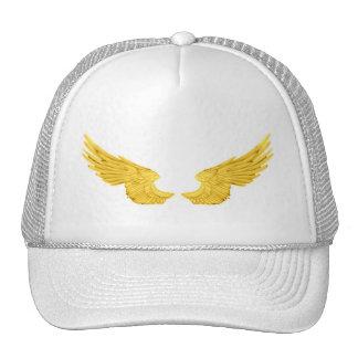 Falln Golden Angel Wings Cap