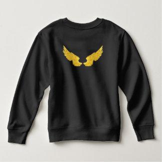 Falln Golden Angel Wings Sweatshirt