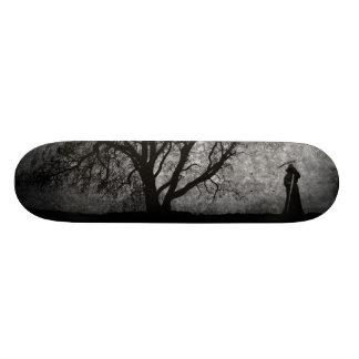 Falln Grim Reaper Original Art Boundaries Between Skateboard Decks