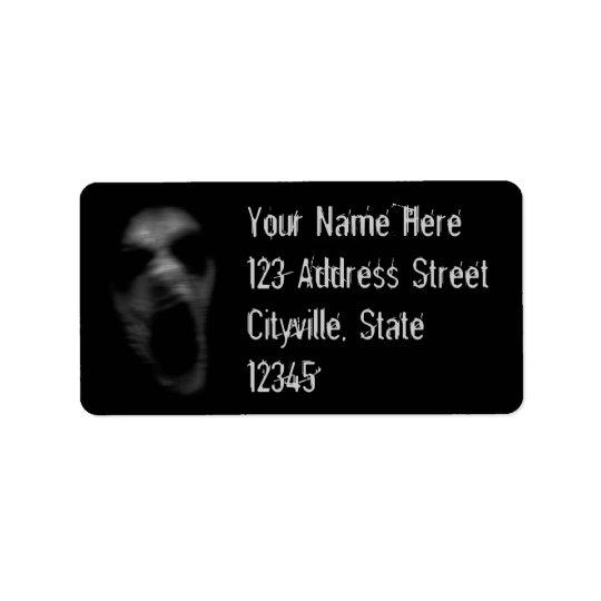 Falln Mental Disturbances Address Label