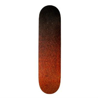 Falln Orange & Black Glitter Gradient 21.3 Cm Mini Skateboard Deck