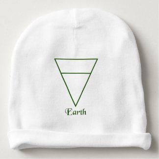 Falln Pagan Earth Element Symbol Baby Beanie