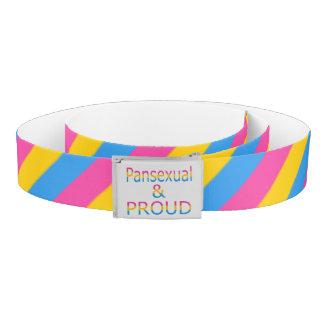 Falln Pansexual and Proud Belt