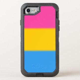 Falln Pansexual Pride Flag OtterBox Defender iPhone 8/7 Case