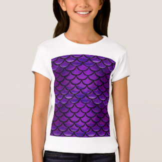 Falln Purple & Blue Mermaid Scales Shirts