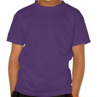 Falln Purple & Blue Mermaid Scales Tee Shirts