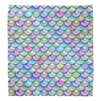 Falln Rainbow Bubble Mermaid Scales Bandana
