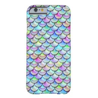 Falln Rainbow Bubble Mermaid Scales Barely There iPhone 6 Case