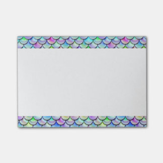 Falln Rainbow Bubble Mermaid Scales Post-it Notes